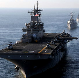 Navy Conducts Market Research for $2.5B CANES Shipboard Networks Follow-On Contract