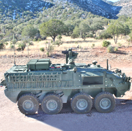 General Dynamics Awarded $2.5B to Build Army Stryker Vehicles With New Configuration