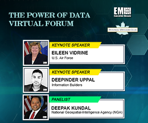 Potomac Officers Club Hosts The Power of Data Virtual Event; Eileen Vidrine, Deepinder Uppal Deliver Keynotes