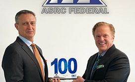 mark-gray-president-and-ceo-of-asrc-federal-receives-sixth-consecutive-wash100-award-from-jim-garrettson-ceo-of-executive-mosaic