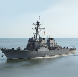 HII, General Dynamics Subsidiary Book $1.1B in Navy DDG-51 Destroyer Contract Options