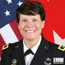 Maj. Gen. Maria Gervais Served as Keynote Speaker at Potomac Officers Club's Future Virtual Battlefield Event on July 22nd