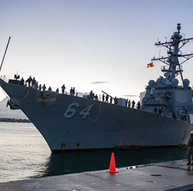 BAE Unit to Modernize Two Navy Arleigh Burke-Class Destroyers Under Potential $212M Contract