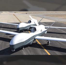 Navy Plans Triton UAS Test Support Order for Northrop