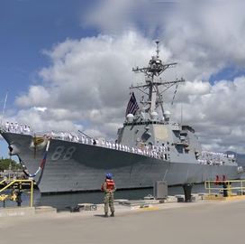 BAE Wins Potential $118M Navy Contract for USS Preble Ship Maintenance Services