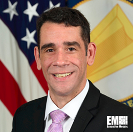 Leonel Garciga Delivers Keynote During Potomac Officers Club's Weaponizing Data Across the Digital Battlefield Virtual Event