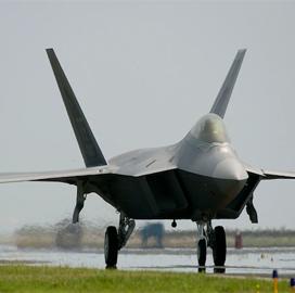 Air Force Plans Lockheed F-22 Upgrade Service Procurement