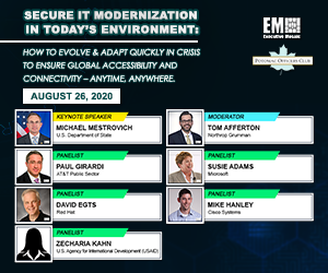 Potomac Officers Club to Host Secure IT Modernization in Today's Environment Virtual Event on Aug. 26th