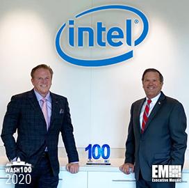 Jim Brinker, Intel Federal Head, Receives First Wash100 Award From Executive Mosaic CEO Jim Garrettson