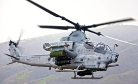 AH-1Z helicopter