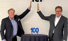 Executive Mosaic CEO Jim Garrettson and ICF CEO John Wasson