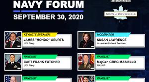 Potomac Officers Club 2020 Navy Forum