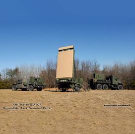 Northrop to Refresh Marine Corps G/ATOR Radar Tech Under $249M Agreement