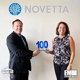 Novetta President, CEO Tiffanny Gates Presented Second Consecutive Wash100 Award
