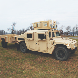 AM General Secures $458M in Army Humvee Component Supply Contracts