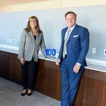 SAIC CEO Nazzic Keene Receives Her Third Wash100 Award From Jim Garrettson, CEO of Executive Mosaic