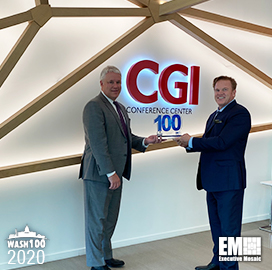 CGI Federal President Tim Hurlebaus Receives Third Wash100 Award for Company Growth, Expanding Tech