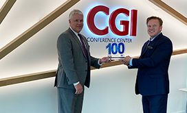 CGI President Tim Hurlebaus Receives Wash100 Award From Executive Mosaic CEO Jim Garrettson