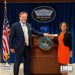 Katie Arrington Receives 2020 Wash100 Award From Jim Garrettson