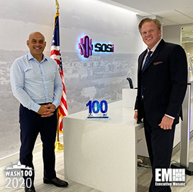 SOSi CEO Julian Setian Receives Second Consecutive Wash100 Award for Driving Growth, Emerging Tech Capabilities