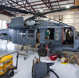 Five Companies Win Spots on $835M Air Force Helicopter Maintenance IDIQ