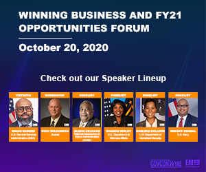 Panelists Discuss Federal Marketplace During GovConWire's Winning Business and FY21 Opportunities Forum