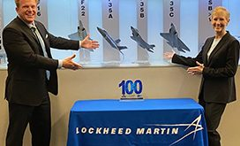 Michele Evans, EVP of Aeronautics Lockheed Martin, Receives First Wash100 Award