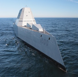 Raytheon Technologies to Support Navy Destroyer Logistics, Engineering Under $94M Contract Modification