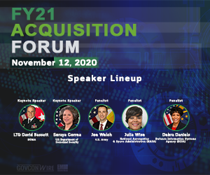 GovConWire to Host FY21 Acquisition Forum TODAY at 1PM: Learn About the Featured Event Speakers