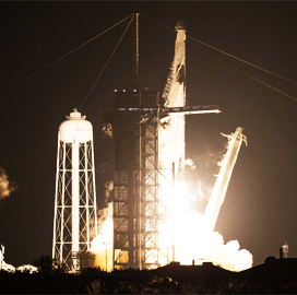 NASA, SpaceX Launch First Operational Crewed Mission to ISS