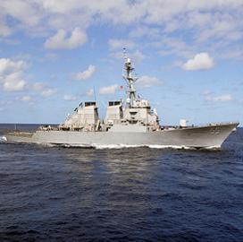 BAE Unit Wins Potential $100M USS Stout Destroyer Ship Modernization Contract