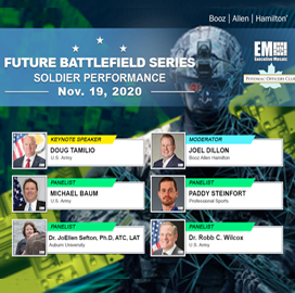 Expert Panel to Address Wearable Tech Across Defense Landscape During Potomac Officers Club's Soldier Performance Virtual Event