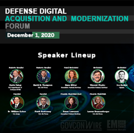 Expert Panel to Discuss DoD Strategies at GovConWire's Defense Digital Acquisition and Modernization Forum