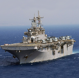 BAE Unit Wins Potential $238M Navy Contract for USS Wasp Drydocking, Maintenance