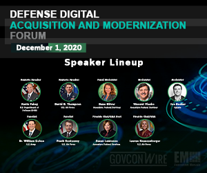 GovConWire to Host Defense Digital Acquisition and Modernization Forum TODAY at 12:30 PM EST; Learn About Event Speakers