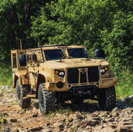 Army Exercises $888M in Oshkosh JLTV Production Contract Options