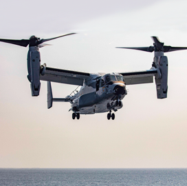 Boeing-Bell JV Gets $170M Contract Modification for Navy Tiltrotor Production, Configuration Requirements