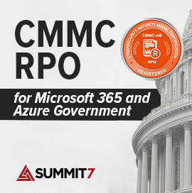 CMMC RPO for Microsoft 365 and Azure Government
