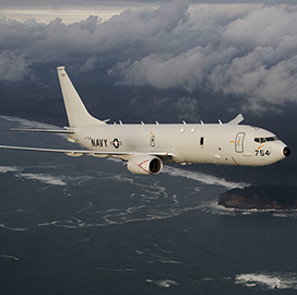 Boeing Gets $109M New Zealand P-8A Aircraft Training System Order Under US Navy Contract