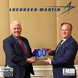 Rick Ambrose, EVP of Lockheed Martin Space, Receives Fifth Wash100 Award