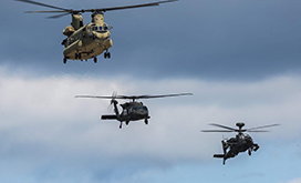 CAE helicopter flight training support for US Army