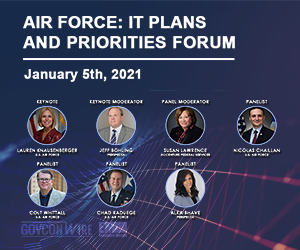 Expert Panel to Discuss Future Modernization Initiatives During GovConWire's Air Force: IT Plans and Priorities Forum