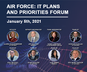 GovConWire to Host Air Force IT Plans and Priorities Forum TODAY at 12pm
