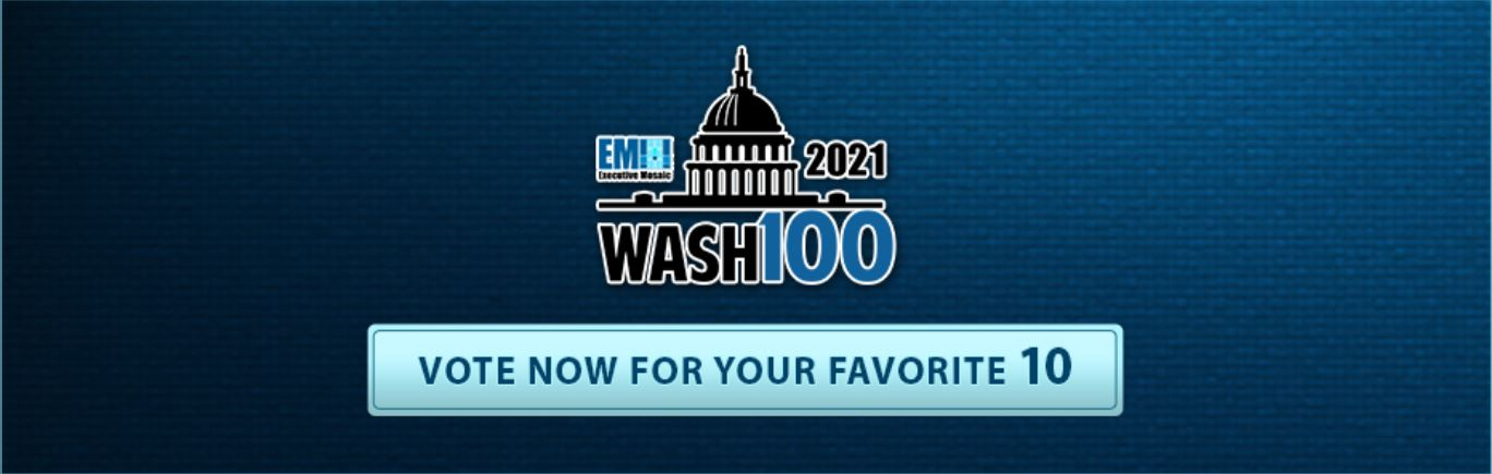 Iridium CEO Matt Desch Named to 2021 Wash100 for Satellite IoT and Maritime Communications Service Leadership - top government contractors - best government contracting event