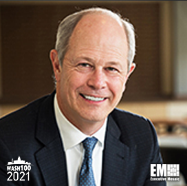 Kevin Phillips, Chairman, President & CEO of ManTech, Inducted Into 2021 Wash100 for Leading Company Expansion, Driving Innovation