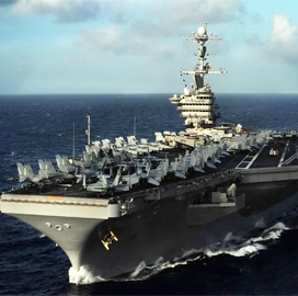 HII Secures Nearly $3B Contract for Navy Aircraft Carrier Refueling, Overhaul Services