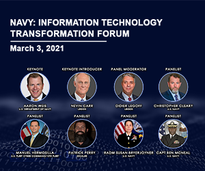 Industry, Federal Executives to Discuss U.S. Navy IT Transformation